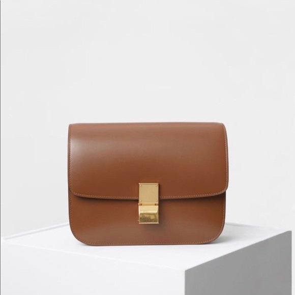 9009ce0ce60b CÉLINE MEDIUM CLASSIC BAG IN BOX CALFSKIN